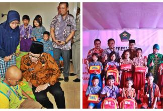 Peresmian Rumah Singgah Anak-anak Penderita Kanker Kota Malang