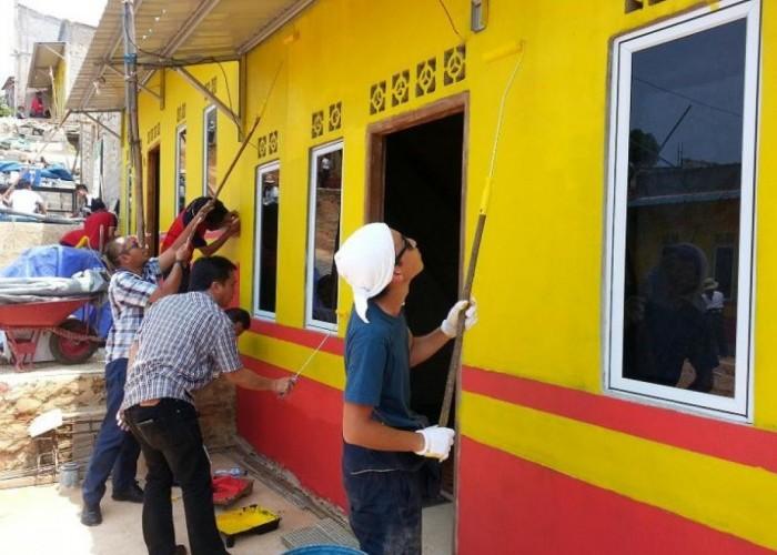 Alfamart Bangun Kampung di Kabil Batam