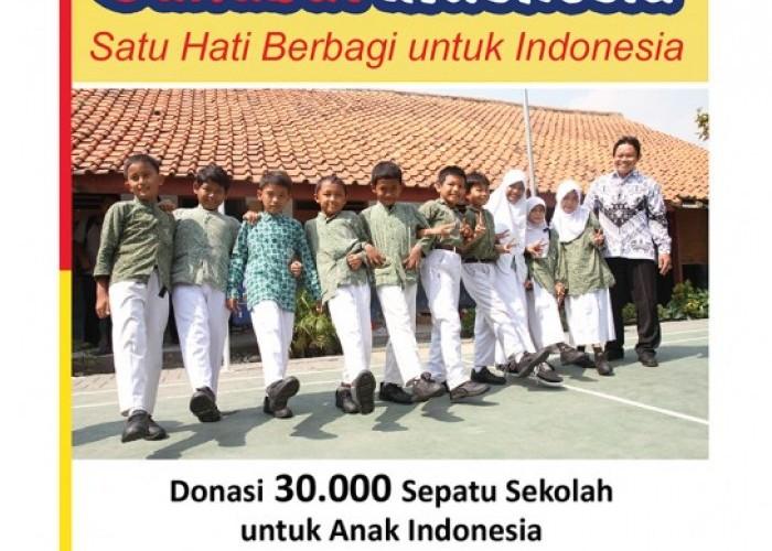 Berbagi Sepatu untuk Anak Indonesia