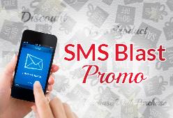 SMS Blast Promo