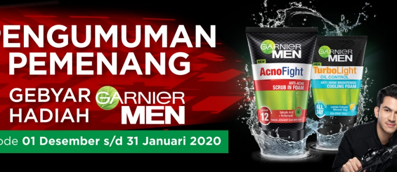 Pemenang Program Garnier Men