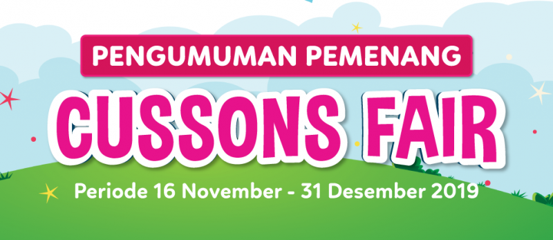 Pemenang CUSSON FAIR 16 November - 31 Desember 2020