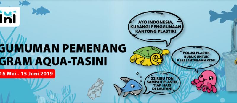 Pemenang AquaTasini Periode 16 Mei - 15 Juni 2019