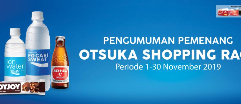 Pemenang Otsuka Shopping Race