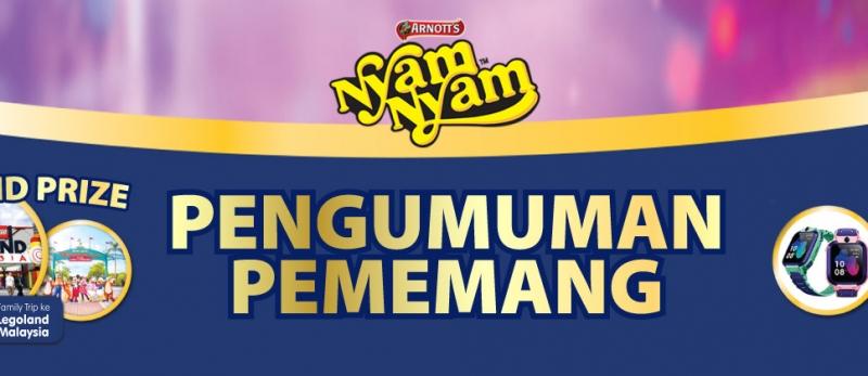 Pengumuman Pemenang NyamNyam periode 16 Desember 2019 - 15 Februari 2020