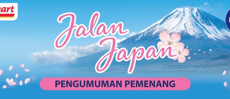 Pengumuman Pemenang Nivea Jalan Japan 1 Februari - 15 Maret 2020.