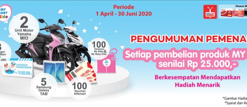 Pemenang Program My Baby Periode 1 April - 30 Juni 2020