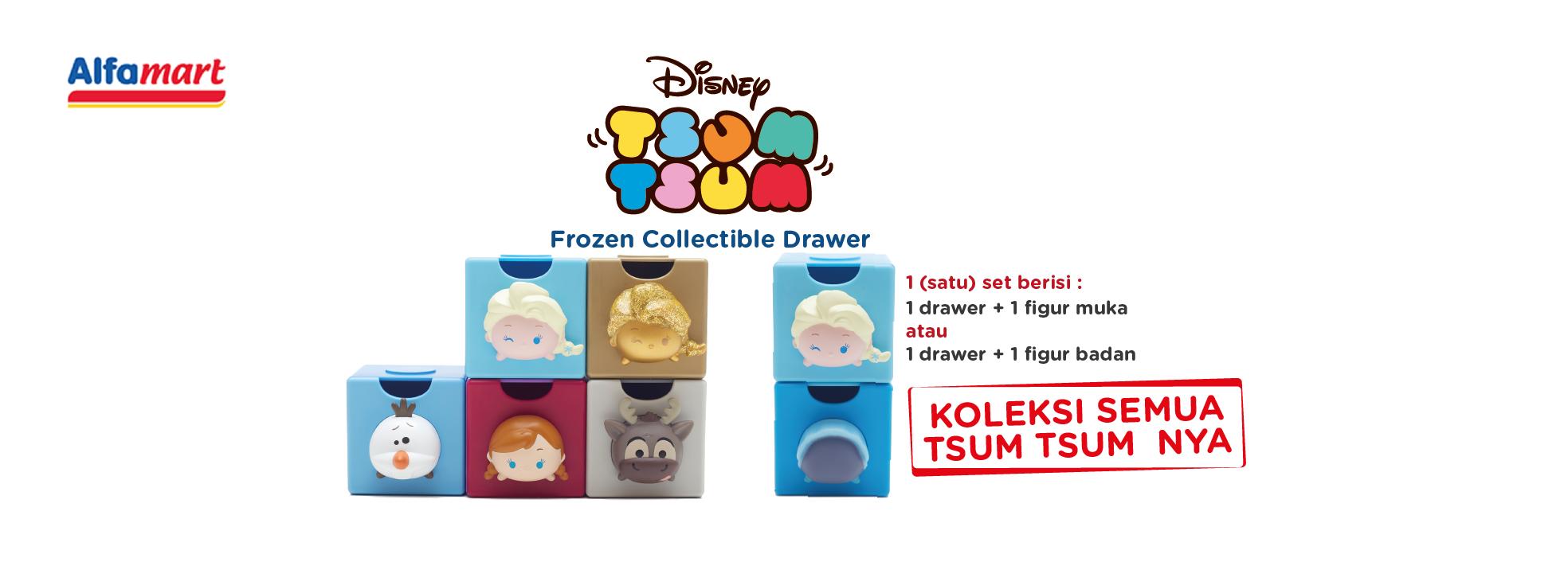 Disney Tsum-Tsum - Frozen Collectible Drawer