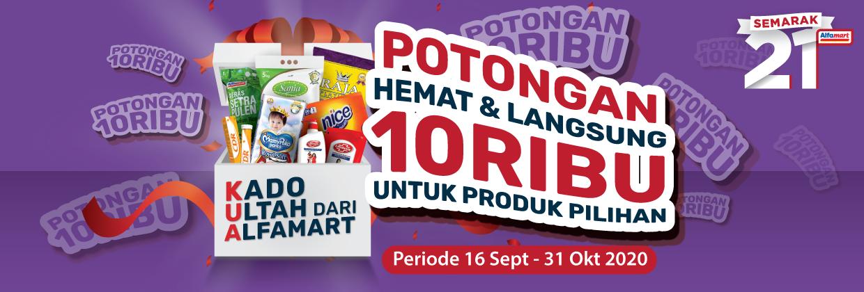 Promo Semarak 21 Alfamart Periode 16 - 31 Oktober 2020