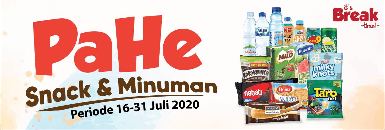 Paket Hemat Alfamart periode 16 - 31 Juli 2020