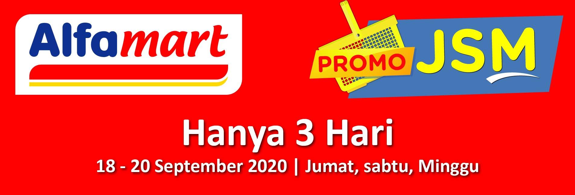Promo JSM 18 - 20 September 2020