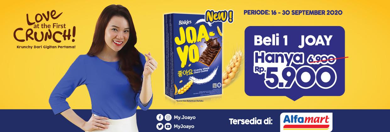 Joayo Hanya Rp 5.900 di Alfamart