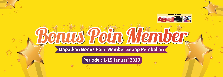 Bonus Poin Ponta 1-15 Januari 2020