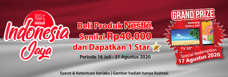 Program Nestle Indonesia Jaya Periode 16 Juli - 31 Agustus 2020
