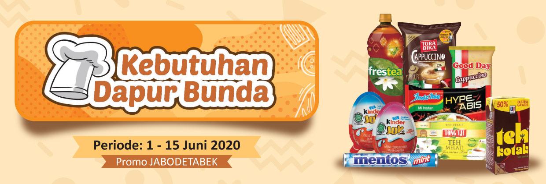Promo Kebutuhan Dapur Bunda 1 - 15 Juni 2020