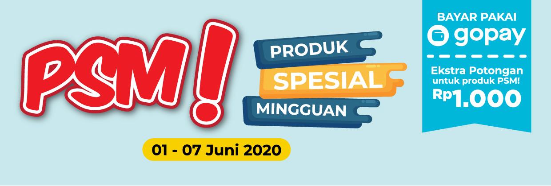Promo Produk Spesial Mingguan 1 - 7 Juni 2020