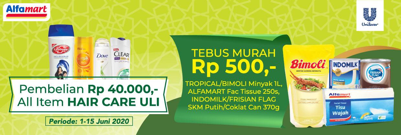 Promo Tebus Murah Hair Care Unilever 1 - 15 Juni 2020