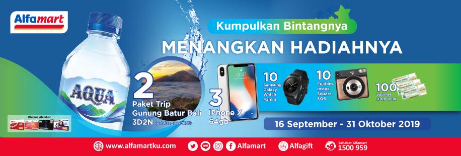 Aqua Air 16 September - 31 Oktober 2019
