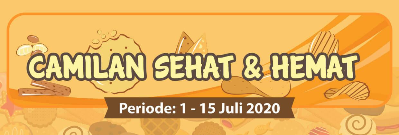 Promo Camilan Sehat dan Hemat 1 - 15 Juli 2020