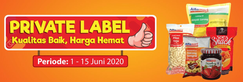 Promo Private Label 1 - 15 Juni 2020