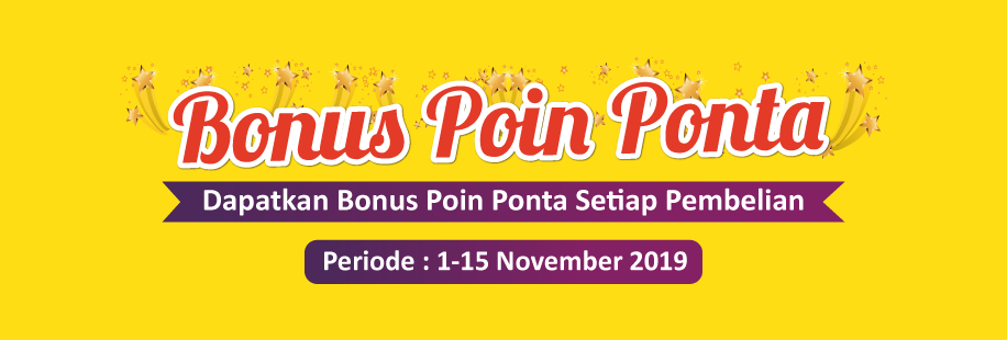 Bonus Poin Ponta 1 - 15 November 2019