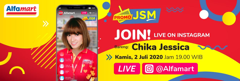 IG LIVE Promo Gantung bersama Chika Jesscia