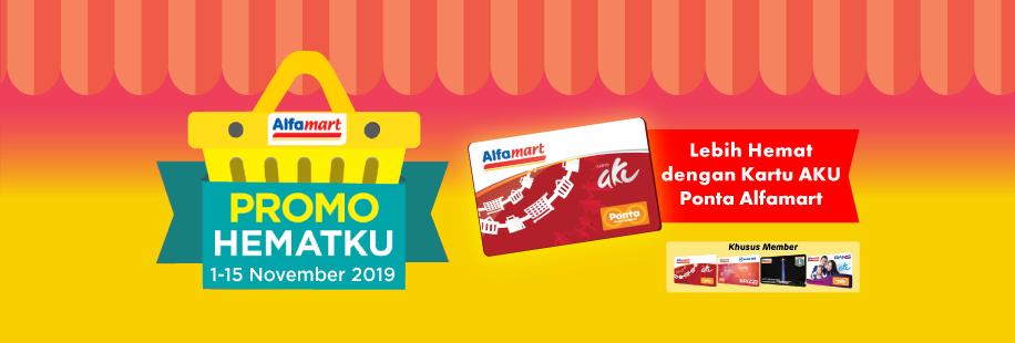 Promo Hematku Alfamart 1 - 15 November 2019