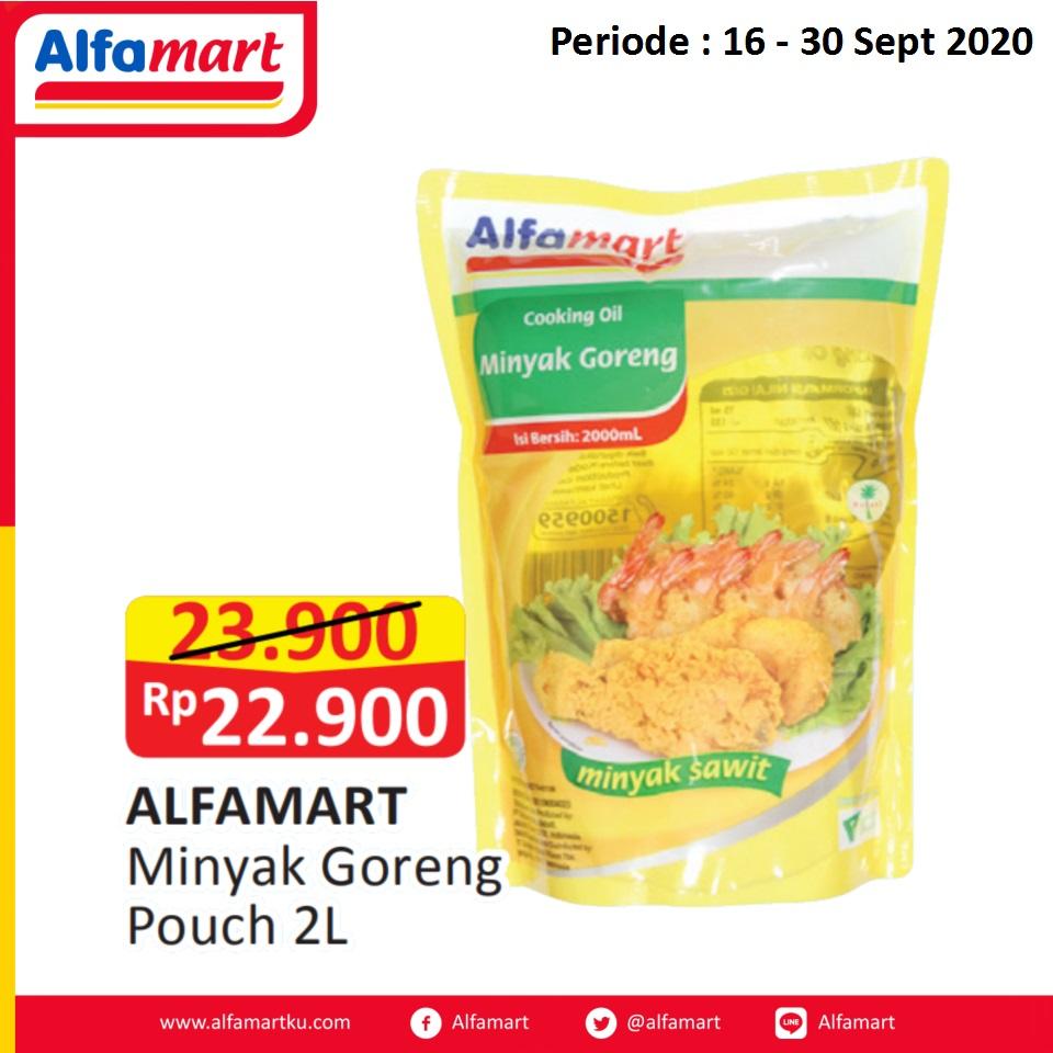 ALFAMART Minyak Goreng Pouch 2Liter
