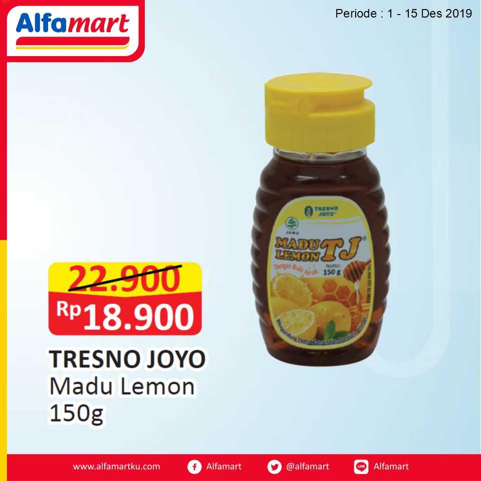 TRESNO JOYO Madu Lemon 150g