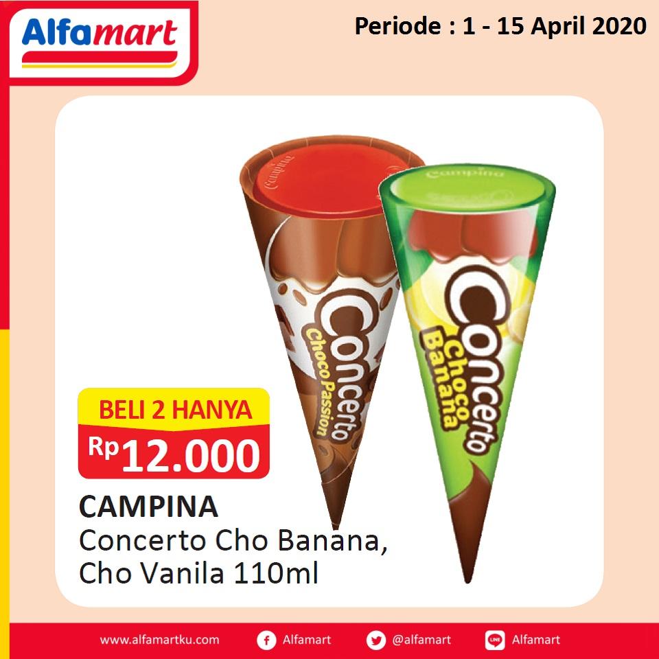 CAMPINA Concerto Cho Banana, Cho Vanilla 110ml