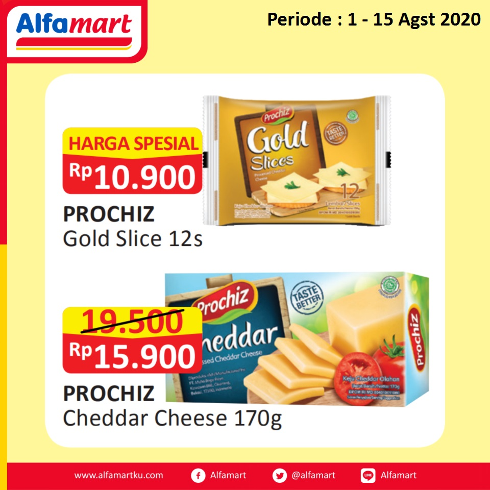 PROCHIZ Cheddar Cheese and Gold Slice