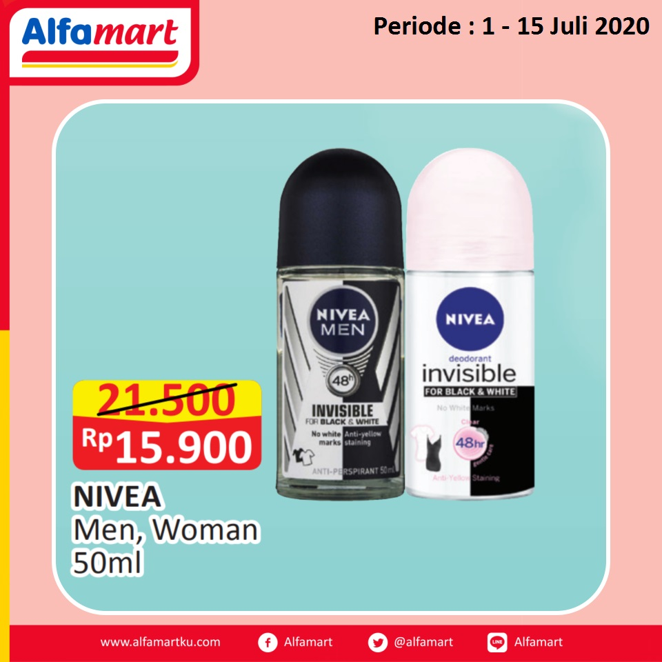 NIVEA Men, Woman 50ml