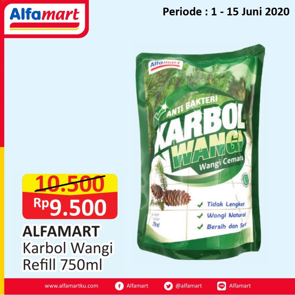 Alfamart Karbol Wangi Refill 750ml