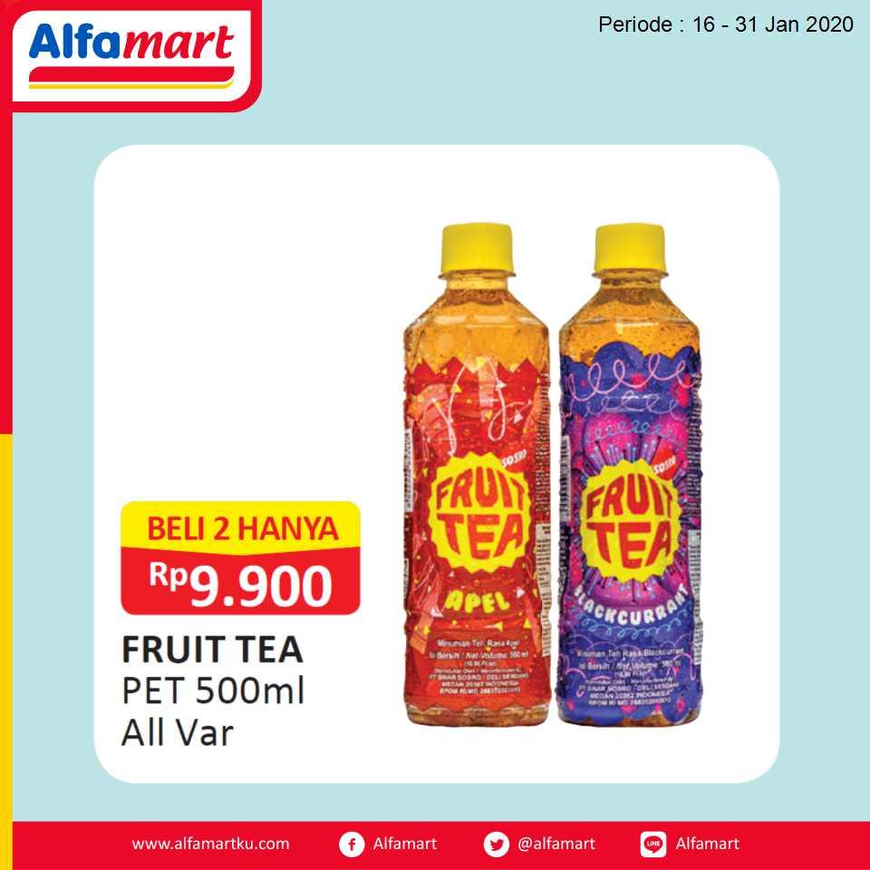 FRUIT TEA PET 500ml All Var