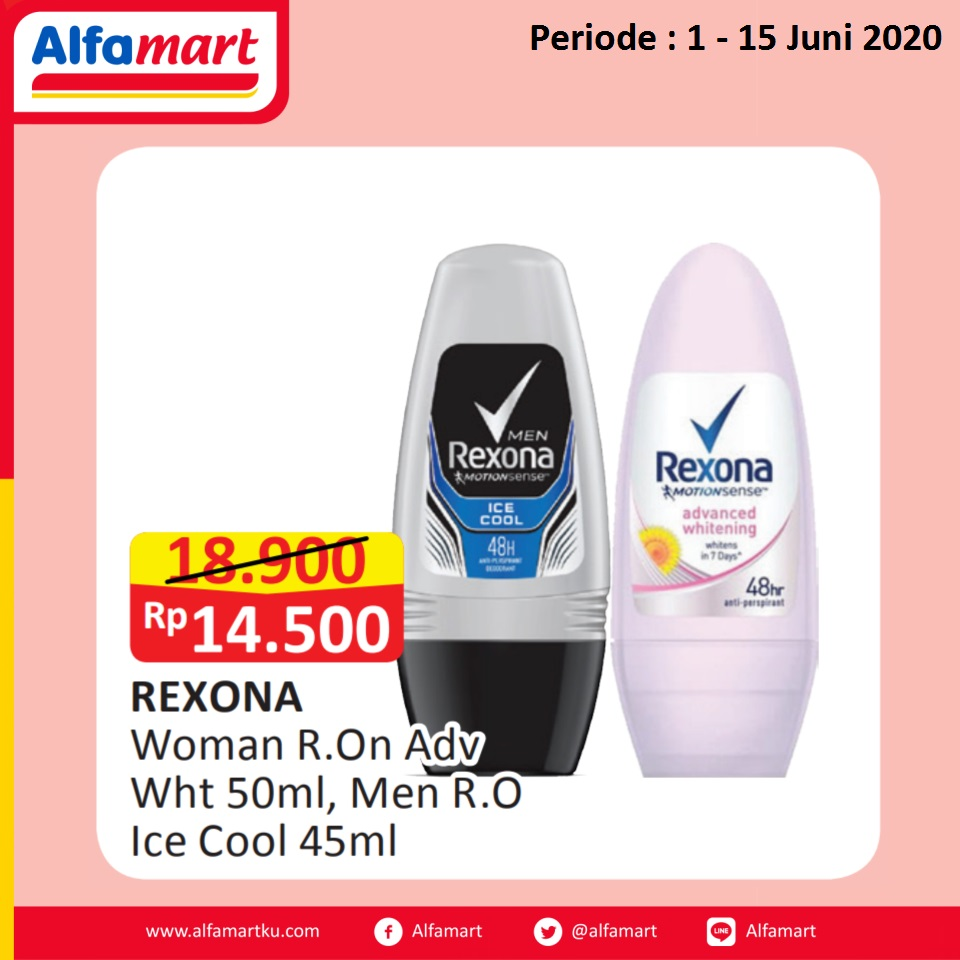 Rexona Woman and Men Roll On
