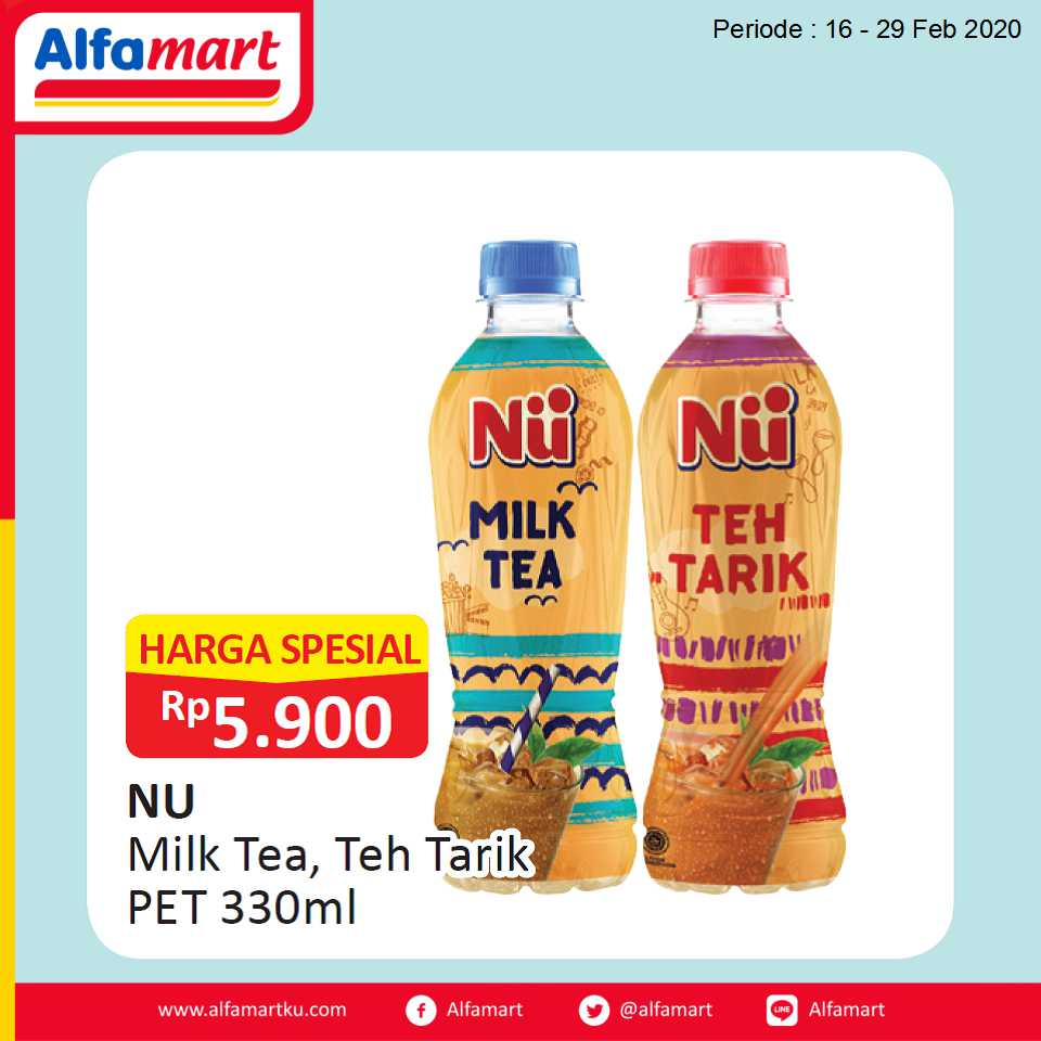 NU Milk Tea, Teh Tarik PET 330ml
