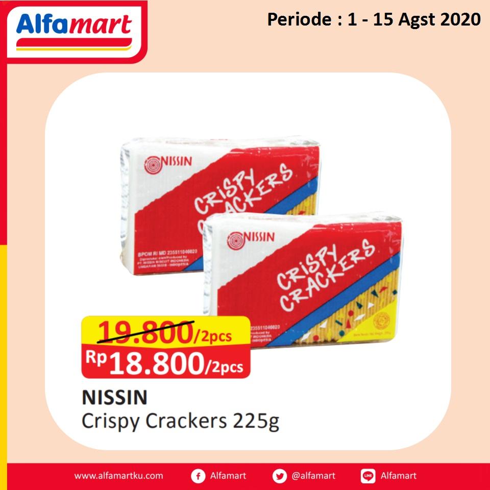 NISSINS Crispy Crackers 225g
