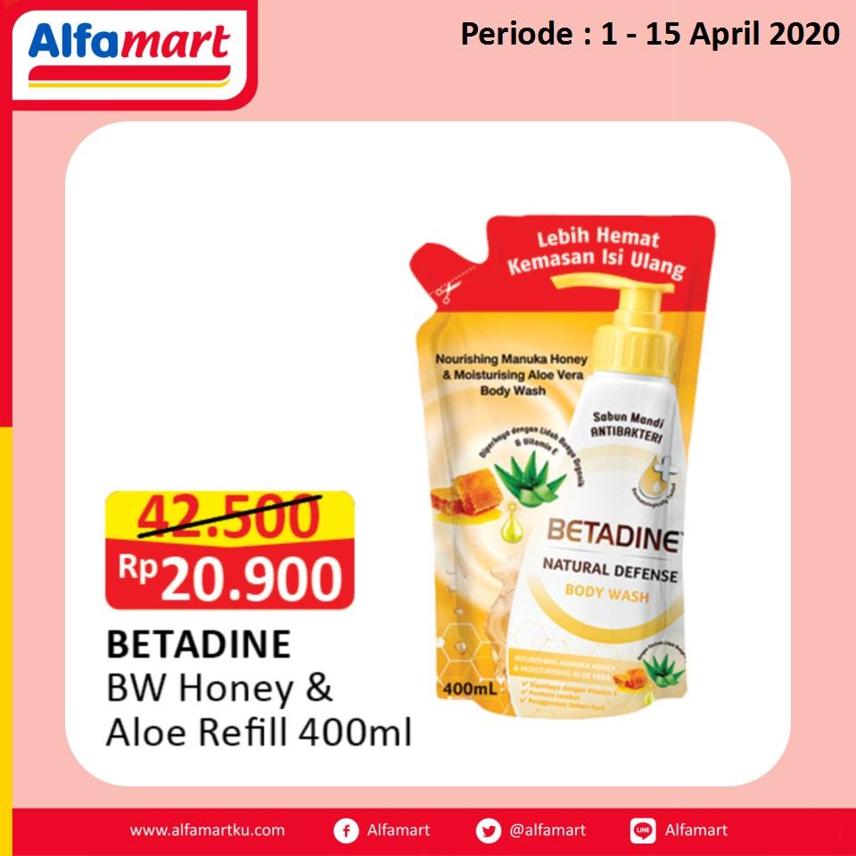BETADINE BW Honey & Aloe Refill 400ml
