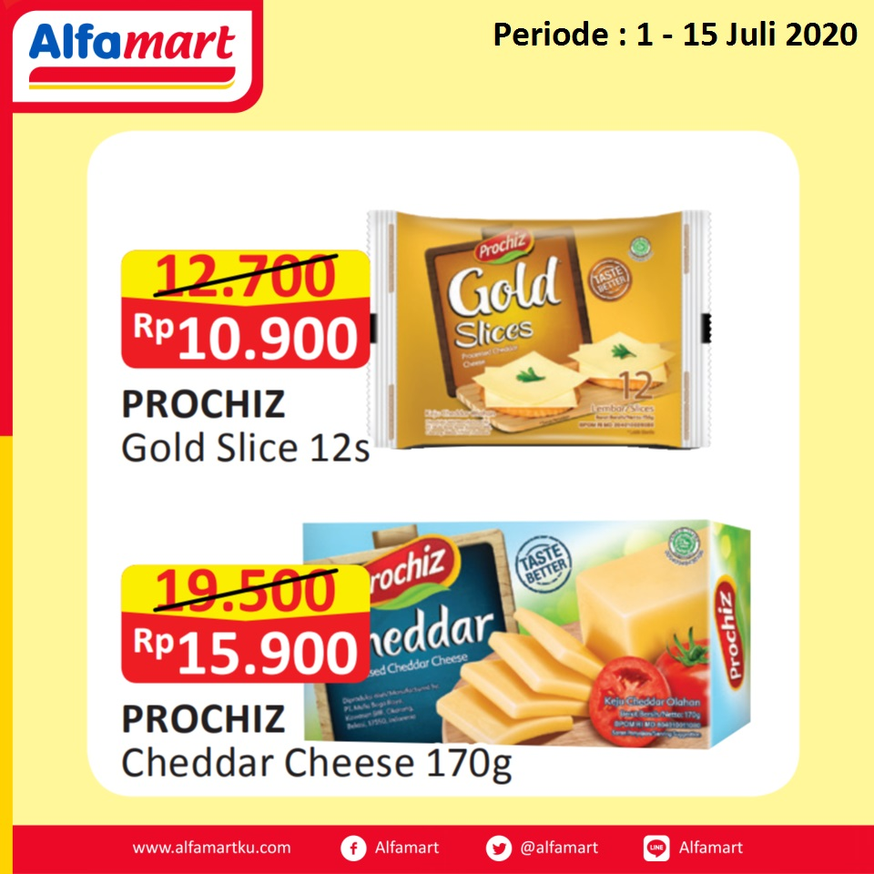 PROCHIZ Gold Slice & Cheddar Cheese 170g