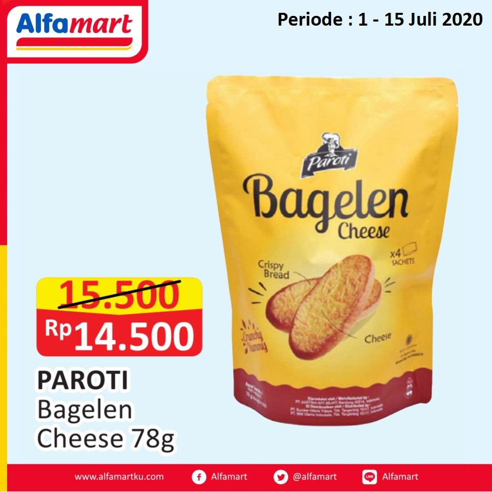 PAROTI Bagelen Cheese 78g