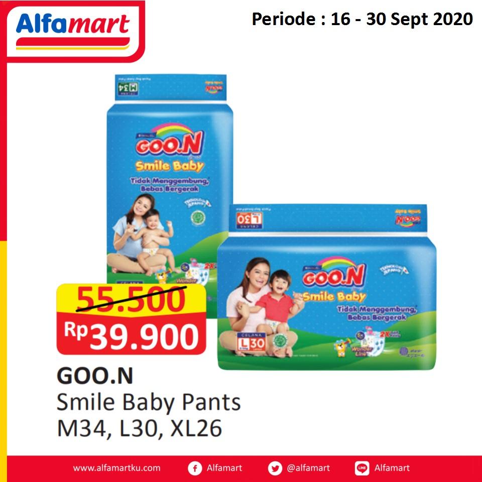 Diapers Goo.n Smile Baby Pants