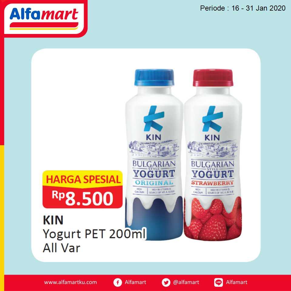 KIN Yogurt PET 200ml All Var